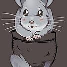 Pocket Cute Grey Chinchilla by TechraNova