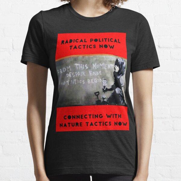 Despair Ends And Tactics Begin Essential T-Shirt