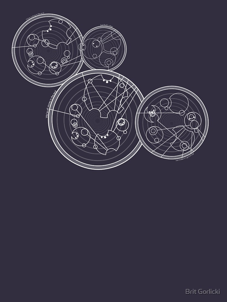 Doctor Who Gallifreyan - We're All Stories quotes | Unisex T-Shirt