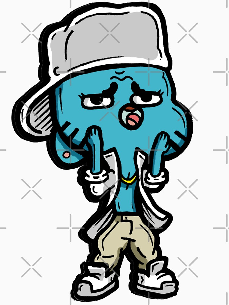 Gumball from The Amazing World of Gumball™ Ocho's Uncle Song by sketchNkustom