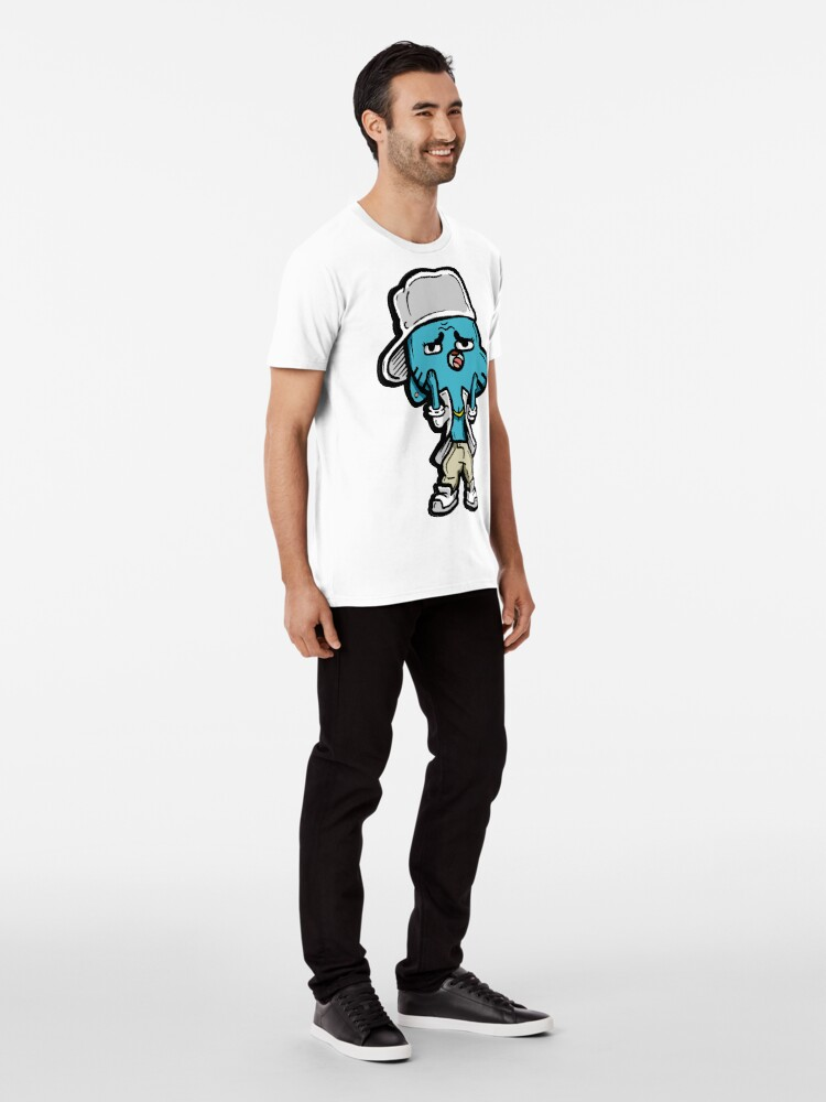 Alternate view of Gumball from The Amazing World of Gumball™ Ocho's Uncle Song Premium T-Shirt