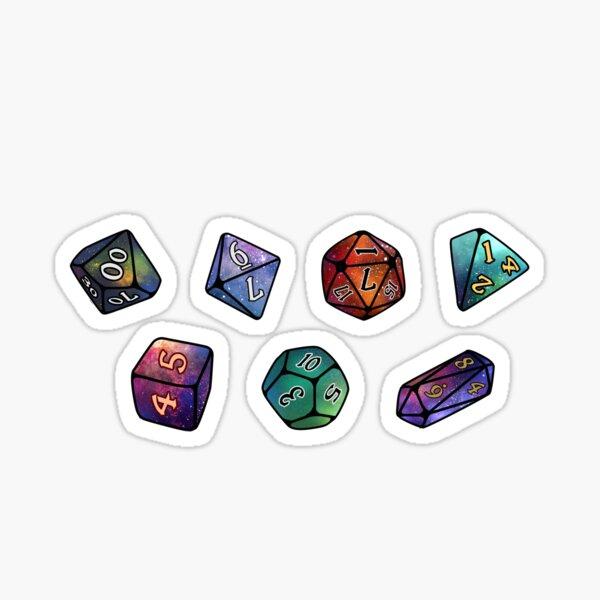 DND D20 Collection Sticker