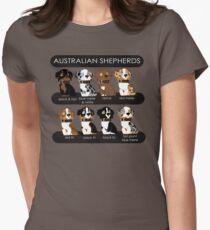 Australian Shepherds Women's Fitted T-Shirt