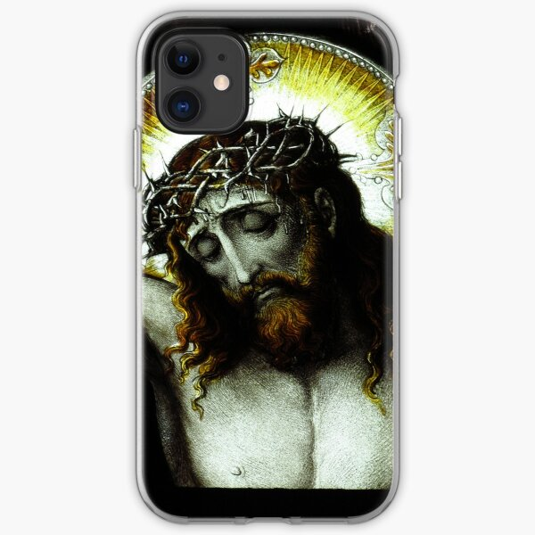 The Crucifixion, St Brelade, Jersey iPhone Soft Case