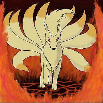 Ninetales - Mystic Blaze by PokemasterShay