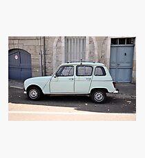 """Renault 4, """"Quatrelle"""" Photographic Print"""