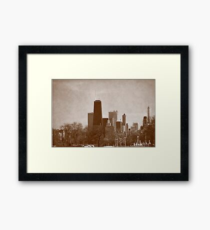 A Glimpse of the Past Framed Print