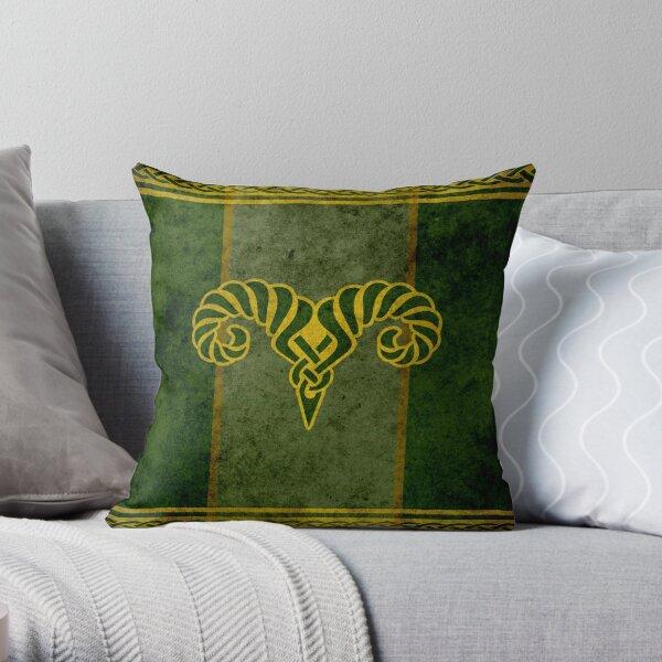 The Reach Banner - Skyrim Throw Pillow