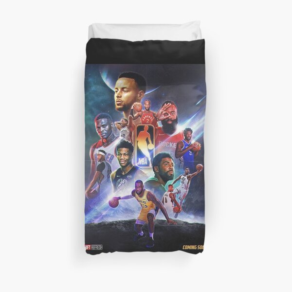 The NBA:END GAME Duvet Cover