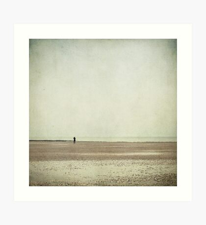 The Lone Photographer Art Print