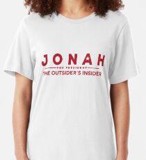 Jonah Ryan For President Slim Fit T-Shirt