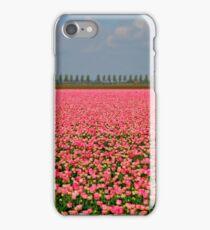 Candy Tulip Field iPhone Case/Skin