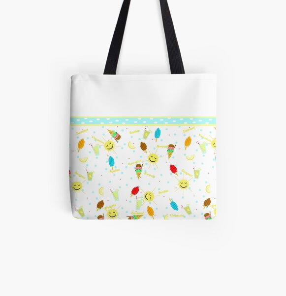 Summer Sweets All Over Print Tote Bag