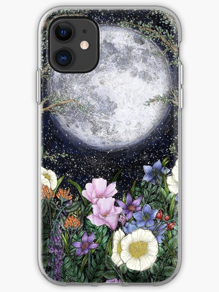 Ombre Tiger Moon iPhone 11 case