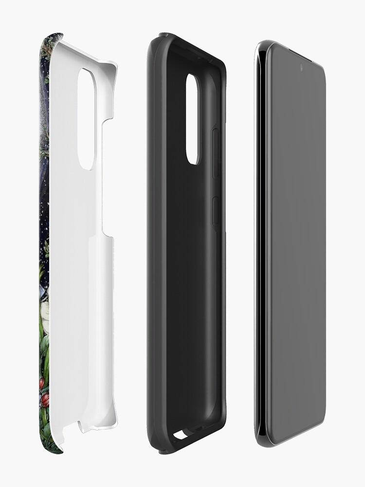 Alternate view of Midnight in the Garden II Case & Skin for Samsung Galaxy