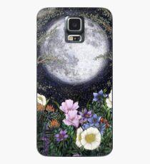 Mitternacht im Garten II Hülle & Klebefolie für Samsung Galaxy