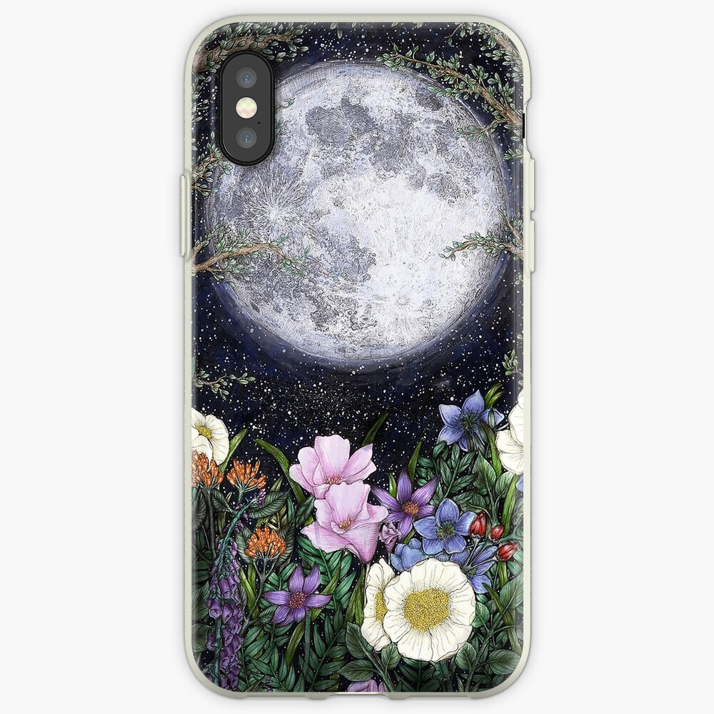 Midnight in the Garden II iPhone Cases & Covers