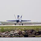 Blue Angel #7 landing by Henry Plumley