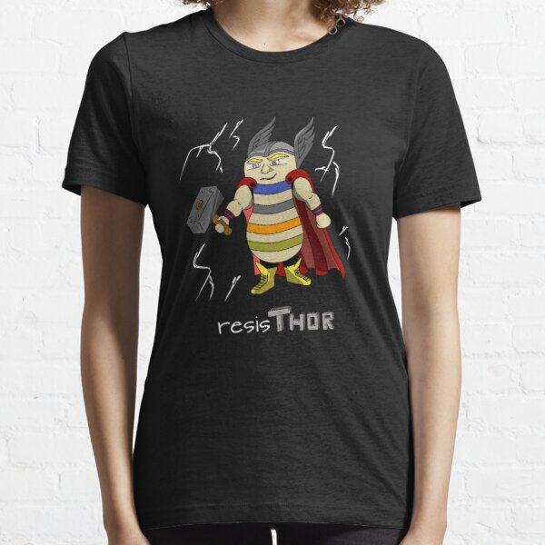 A hero in a body of a resistance  Essential T-Shirt