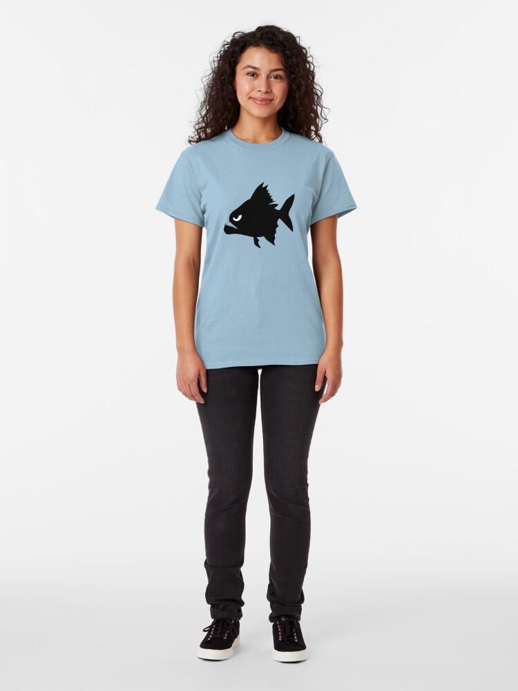 Alternate view of Angry Animals - Piranha Classic T-Shirt