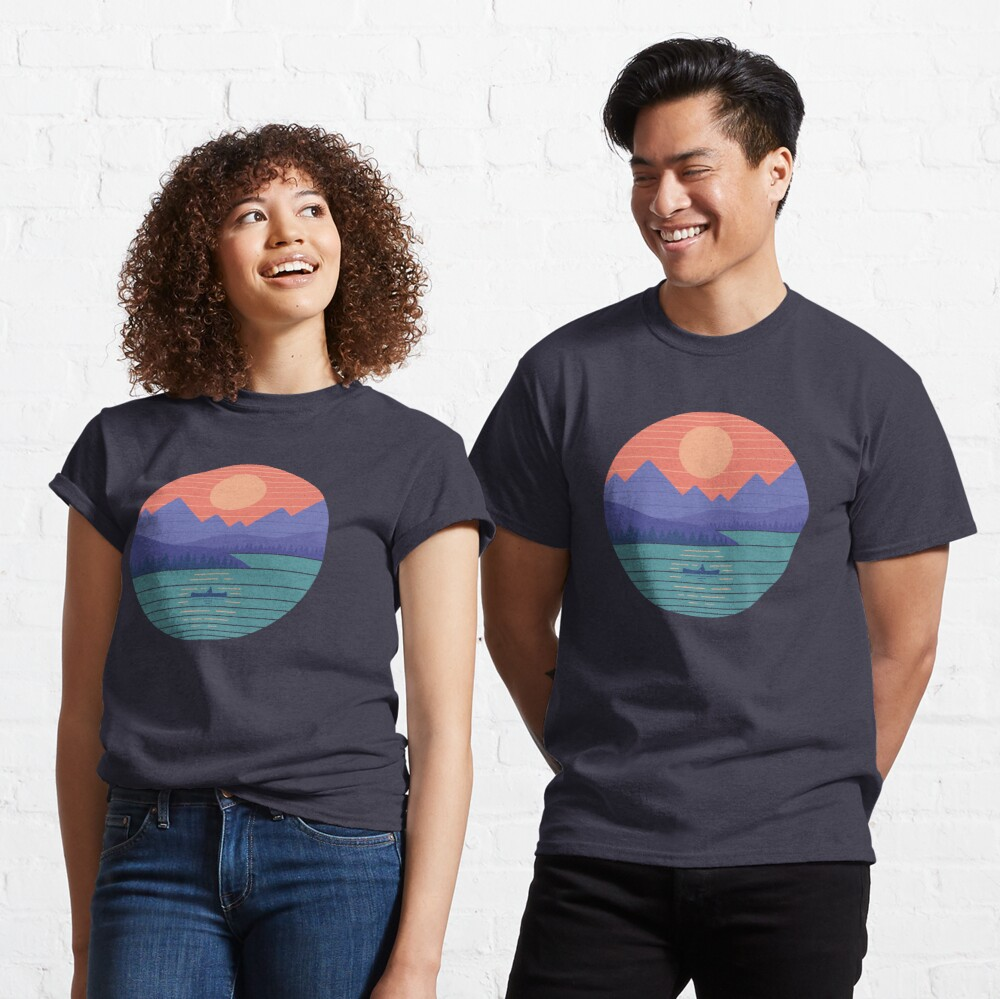 Peaceful Reflection Classic T-Shirt