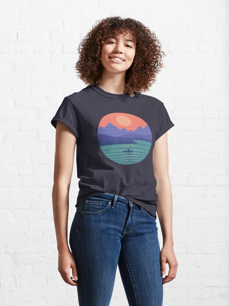 Alternate view of Peaceful Reflection Classic T-Shirt