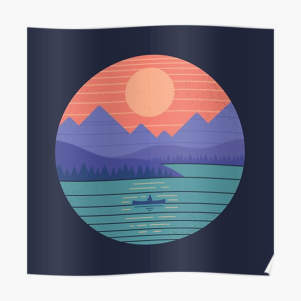 Peaceful Reflection Poster