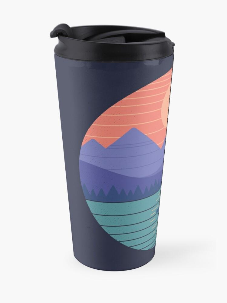 Alternate view of Peaceful Reflection Travel Mug