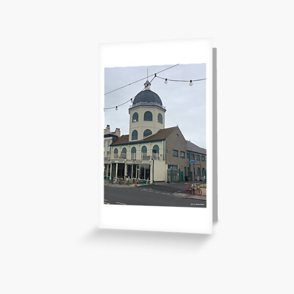 Worthing Dome theatre West Sussex ( Worthing - West Sussex) Greeting Card