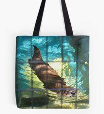 Otter Delight ~ Ms Misu at Hawk Creek Tote Bag