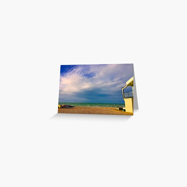 Lancing Blue West Sussex ( Lancing - West Sussex) Greeting Card