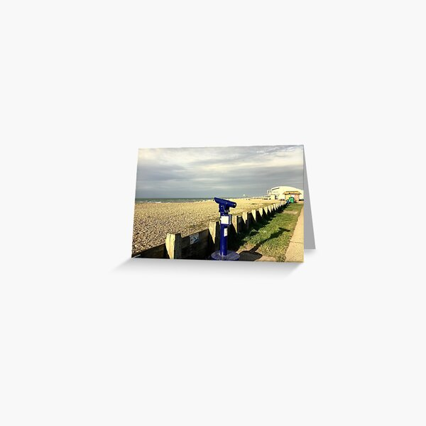 Lancing Telescope West Sussex ( Lancing - West Sussex) Greeting Card
