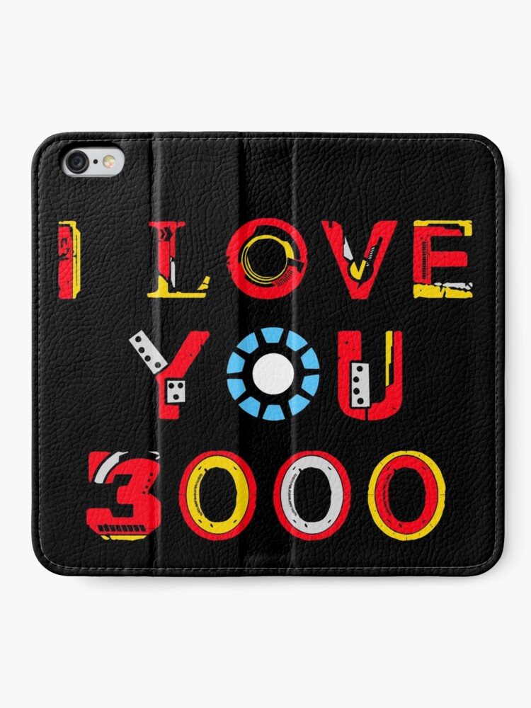 Alternate view of I Love You 3000 v2 iPhone Wallet