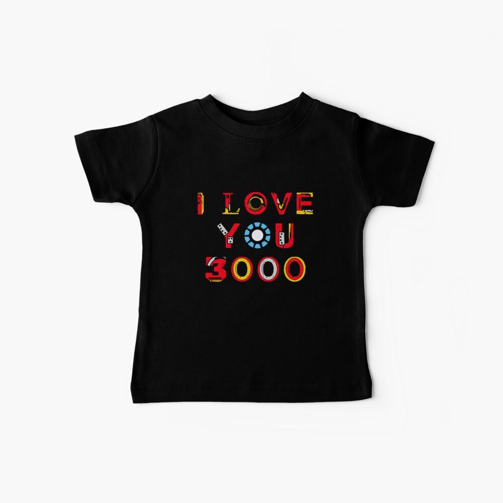 I Love You 3000 v2 Baby T-Shirt