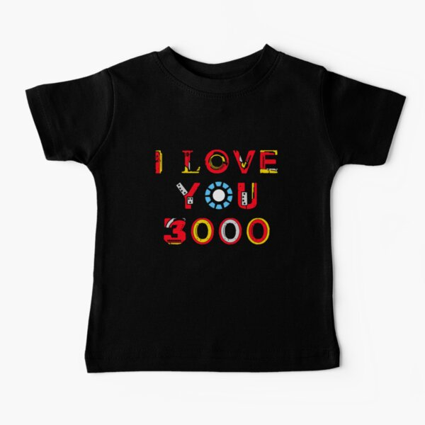 I Love You 3000 v2 Baby T-Shirt