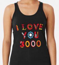 Ich liebe dich 3000 v2 Racerback Tank Top