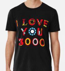 Ich liebe dich 3000 v2 Premium T-Shirt