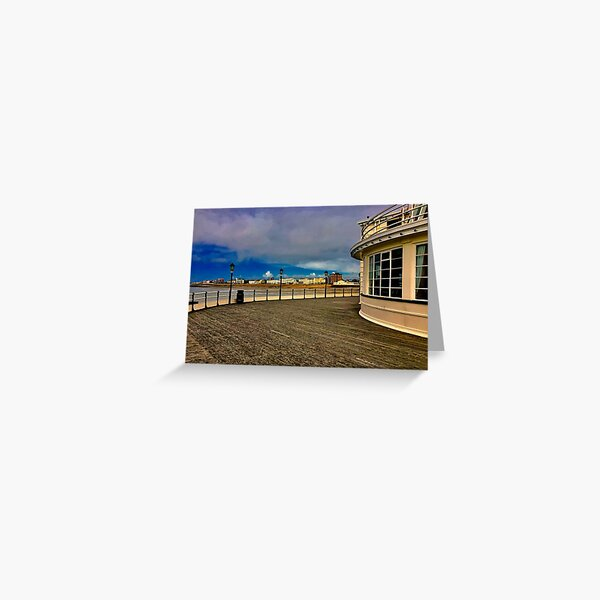 End of the pier , West Sussex ( Worthing, West Sussex) Greeting Card