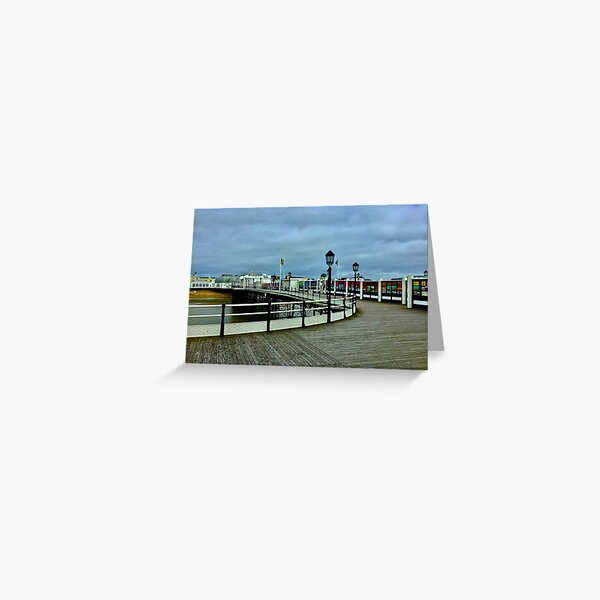 Pier central Worthing , West Sussex ( Worthing, West Sussex) Greeting Card