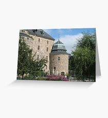 Örebro Castle 2. Greeting Card