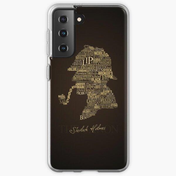 Sherlock Holmes The Canon Samsung Galaxy Soft Case