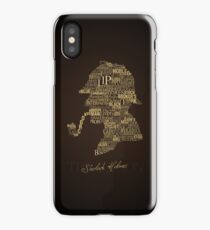 Sherlock Holmes The Canon iPhone Case/Skin