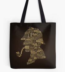 Sherlock Holmes The Canon Tote Bag
