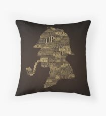 Sherlock Holmes The Canon Throw Pillow