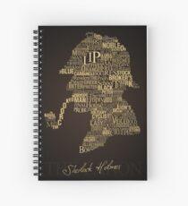 Sherlock Holmes The Canon Spiral Notebook