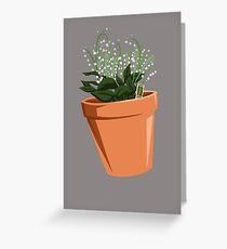 Breaking Bad - Lilly of the Valley Greeting Card