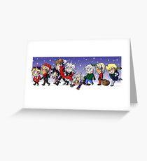 Yu-Gi-Oh! Christmas  Greeting Card