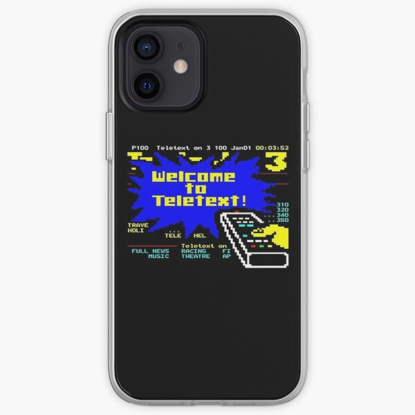 Welcome to Teletext! iPhone Soft Case