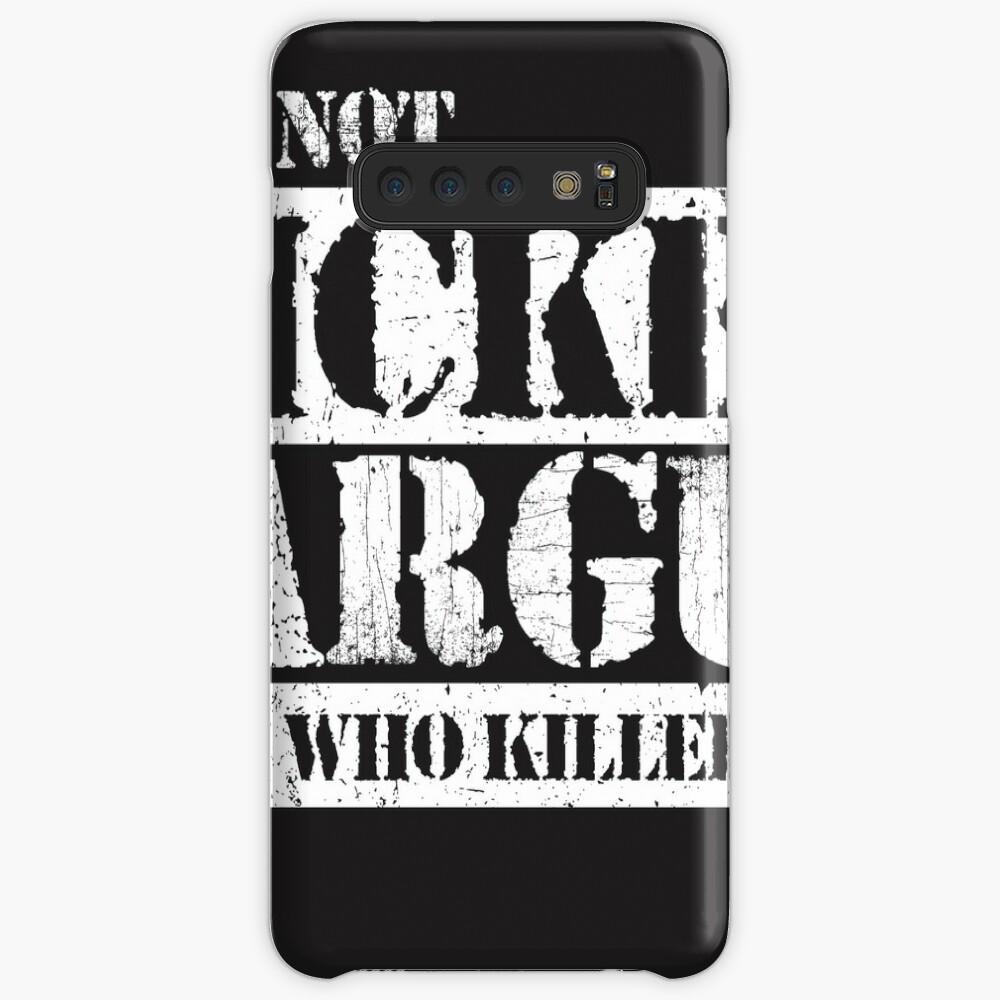 Lets Not Bicker Samsung Galaxy Snap Case