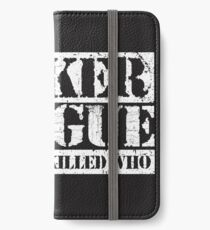 Lets Not Bicker iPhone Wallet/Case/Skin